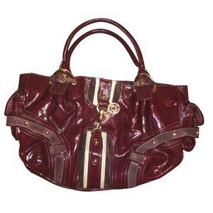 Juicy Couture Burgundy Shoulder Bag